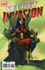 Secret Invasion #3 Leinil Yu Spider-woman Variant 1:50 Marvel comic book